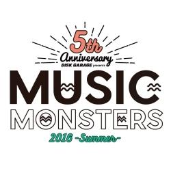 DISK GARAGE MUSIC MONSTERS -2016 summer-