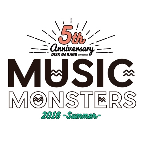 DISK GARAGE MUSIC MONSTERS -2016 summer-